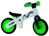 Велосипед (беговел) BELLELLI B-Bip Pl обучающий 2-5лет,пластмасс. Бело-зеленый