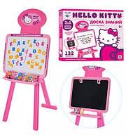 """Мольберт HK 0101 """"Hello Kitty"""", двухсторонний 47,5-34 см,алфавит (рус,укр,анг)"""
