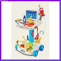 """Детский набор """"Доктор"""" 606-1 с докторской тележкой и 36 инструментами"""