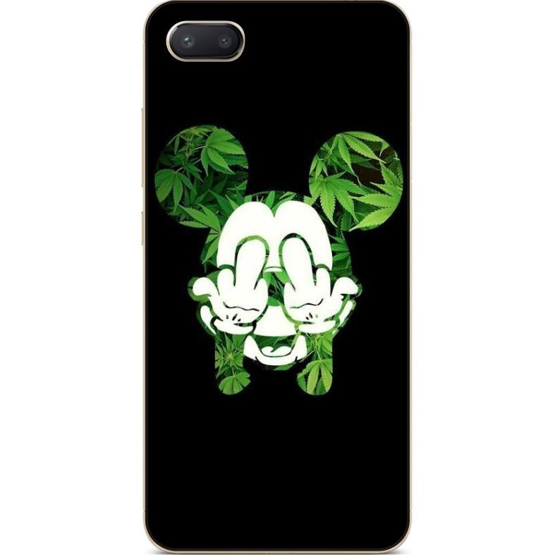Силиконовый чехол бампер для Iphone 8 с рисунком Микки Маус