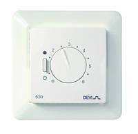 Терморегулятор для теплого пола DEVI DEVIreg-530 Дания, с датчиком . Установка теплых полов в Одессе и области
