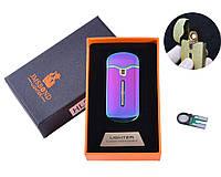 USB зажигалка в подарочной упаковке JMS BOND (Спираль накаливания) Хамелеон + Запасная спираль