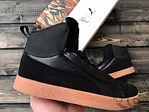 wholesale dealer 159d3 a6ed5 Женские кроссовки Puma x Naturel Clyde FSHN Black/Gum 364453-01