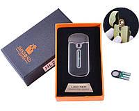USB зажигалка в подарочной упаковке JMS BOND (Спираль накаливания) HL-23-3 + Запасная спираль