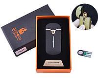 USB зажигалка в подарочной упаковке JMS BOND (Спираль накаливания) HL-24-1 + Запасная спираль