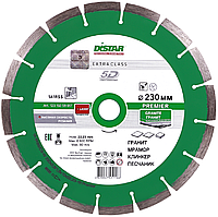 Круг алмазный Distar Premier 230 мм сегментный отрезной диск по граниту на УШМ (12315059017)