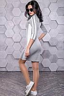 Платье 12-1110 - серый: S М L XL, фото 1
