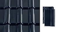 Черепица керамическая Creaton Titania (Креатон Титания) Черная глазурь