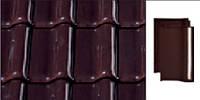 Черепица керамическая Creaton Titania (Креатон Титания) Коричнеая глазурь