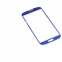 Стекло (Lens) Samsung i9500 Galaxy S4 blue h/c
