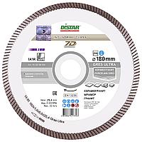 Круг алмазный Distar 1A1R Gres Ultra 180 мм сплошной отрезной диск по керамограниту на плиткорез (11120159014)