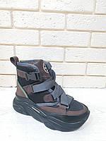 Стильные кроссовки-ботинки женские 2060/2, фото 1