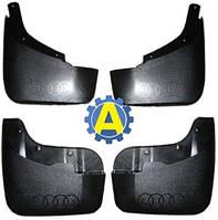 Комплект брызговиков передние и задние на Ауди Q7 (Audi Q7) 2005-2015