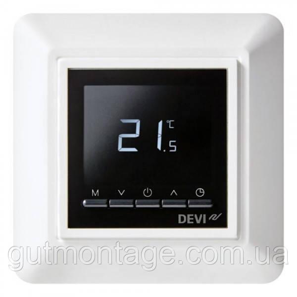 Терморегулятор для теплого пола Devi DeviReg Opti. Монтаж теплых полов в Одессе и области