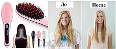 Электрическая расческа-выпрямитель для укладки волос Fast Hair Straightener HQT-906 ( Реплика), фото 3