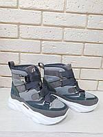 Модные кроссовки-ботинки женские 2060/5, фото 1