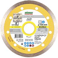 Круг алмазный Distar 1A1R Marble 125 мм сплошной отрезной диск по мрамору (11115053010)