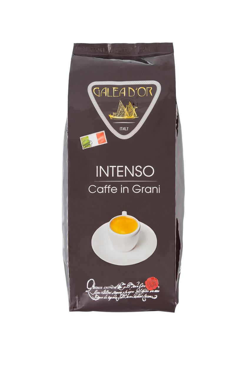 """Кофе в зернах """"GALEADOR INTENSO"""", 50/50, 1кг"""