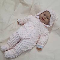 """Человечек для новорожденных 0-3 мес """" Светло-розовый"""", фото 1"""