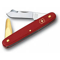 Нож Victorinox садовый (100мм, 3 функции), красный 3.9140