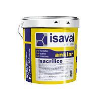 Грунтовка акриловая, глубокопроникающая, дляповерхностей в плохом состоянии,Изаваль (Isaval, Isacrilico) 4 л