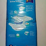 Подгузники Pampers Active Baby Размер 4 (Maxi) 9-14 кг,  58 подгузников CPA, фото 3