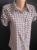 Клетчатые рубашки с коротким рукавом., фото 1