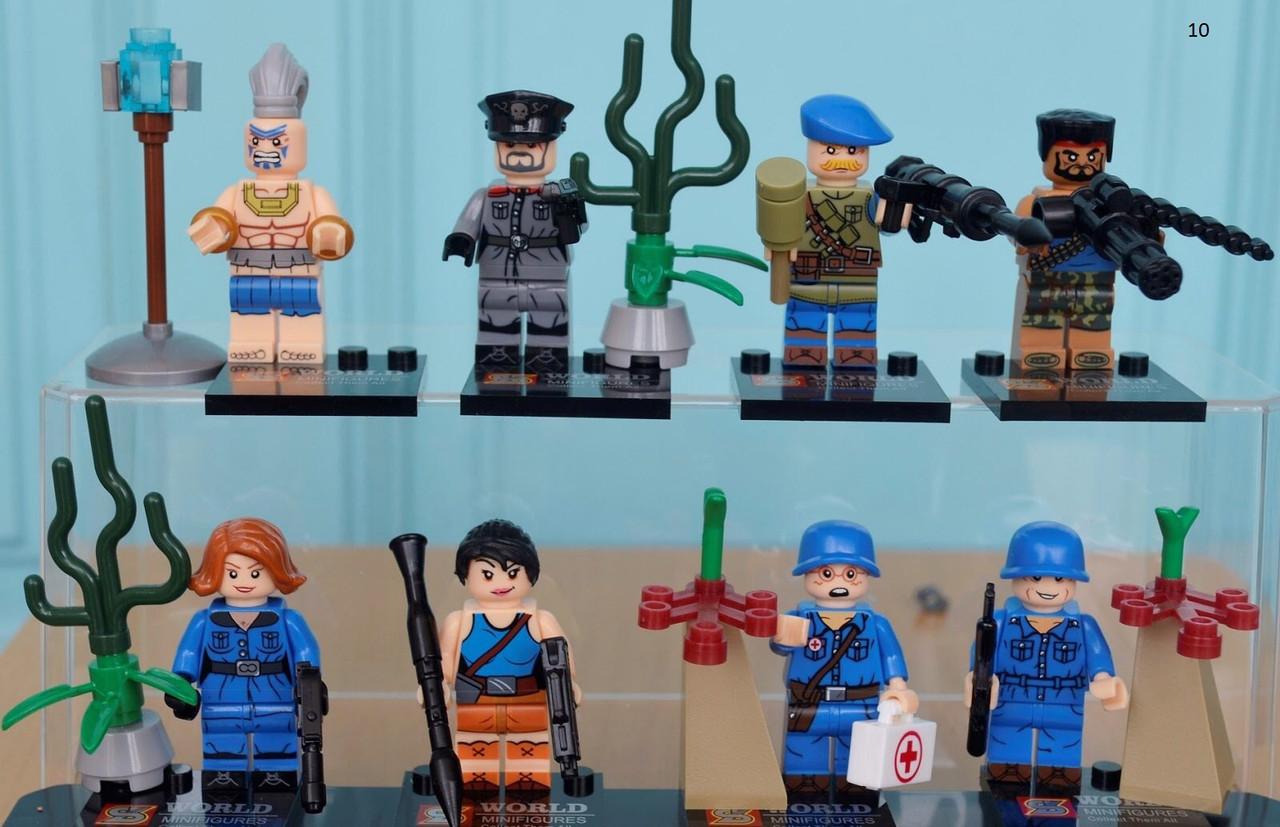 Мини-фигурки американские спецназовцы солдаты swat военные армия лего Lego BrickArms