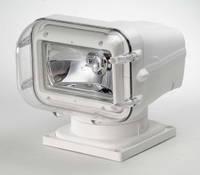 Прожектор 972, ксеноновая лампа HID, белый корпус, беспроводной джойстик TX-SL013A-2, подключение - нижнее - SL97241-CWPT