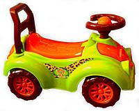 Машинка каталка Автомобиль для прогулок (3428) зеленая