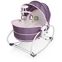 Детская люлька-качалка 5в1 (шезлонг,стульчик,люлька-переноска) 6033 Быстрая доставка Гарантия качества