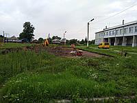 Подготовка под бетонирование площадок.