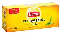 Чай пакетований чорний LIPTON Yellow Label 25 х 2 г