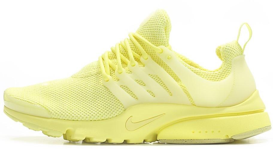 Женские кроссовки Nike air presto Yellow