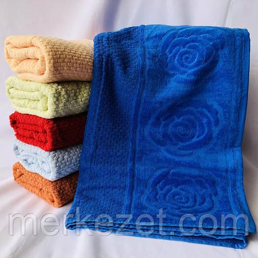 """Полотенце, махра, банное """"Цветочек"""". Полотенца для бани. Полотенца махровые. Махровое полотенце. Банное"""