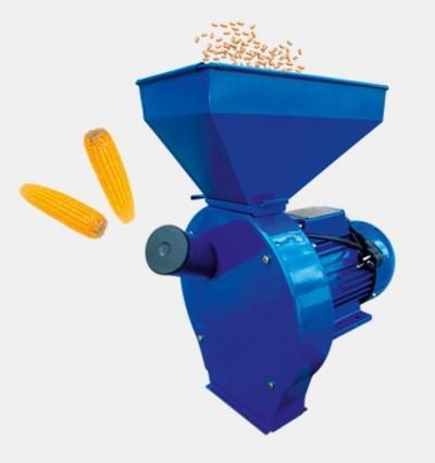 Зернодробилка - кормоизмельчитель ДТЗ КР - 02 К ( зерно + початки кукурузы )