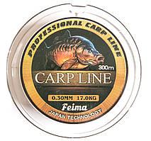 Леска Feima Carp Line 300m 0.30mm