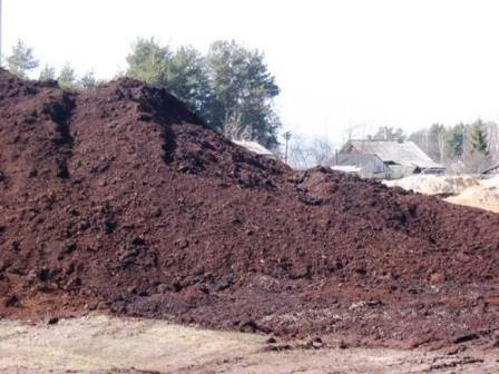 Грунт на подсыпку из микроудобрения из сапропеля (земляные дрожжи) от производителя с доставкой по Украине, фото 1