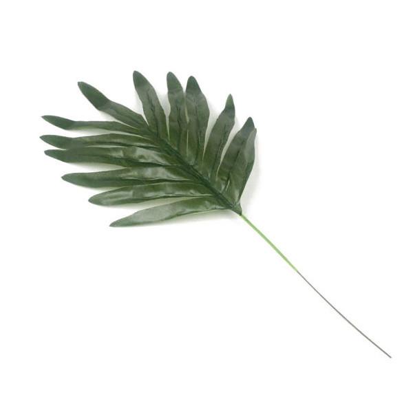 Лист пальмы  декоративный 39 см  (20 шт в уп.)