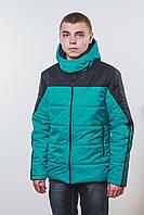 Куртка  мужская весна-осень зеленая
