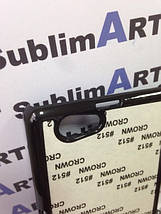 Чехол для 2D сублимации пластиковый на Sony Xperia Z1 mini черный, фото 2