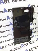 Чехол для 2D сублимации пластиковый на Sony Xperia Z1 mini черный, фото 3