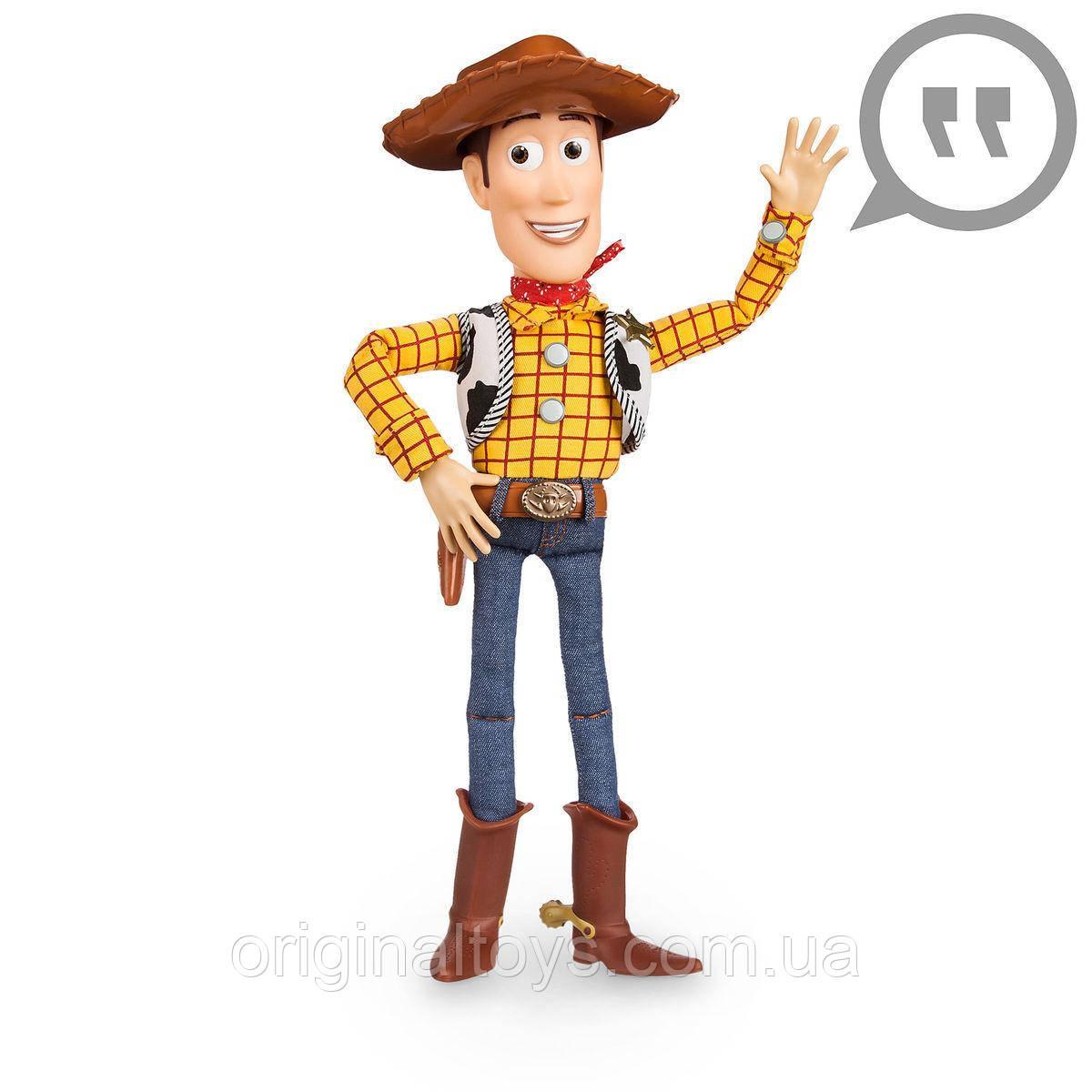 Говорящая кукла Шериф Вуди История Игрушек Дисней Woody Talking Action Figure Disney