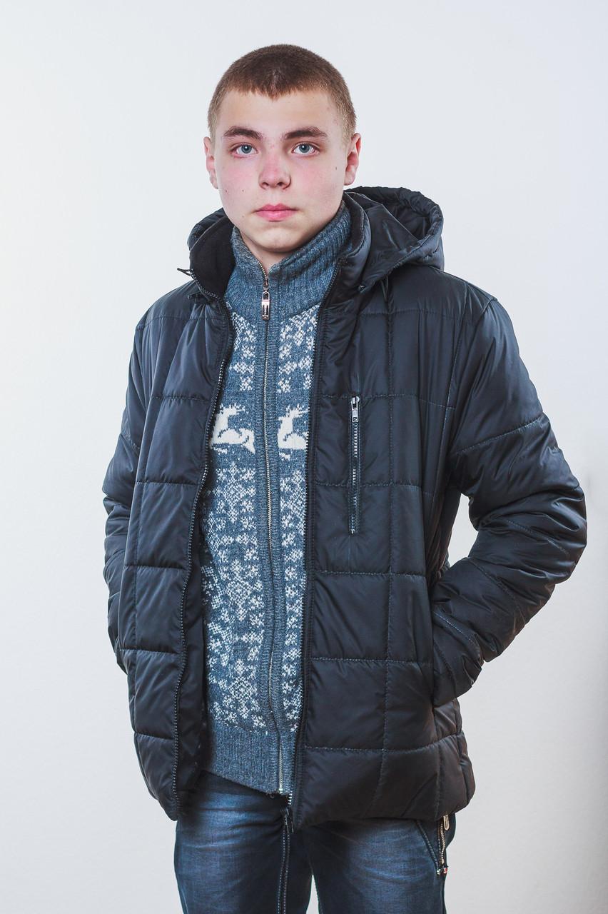 Куртка мужская на синтепоне черная