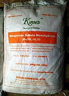 Удобрение сульфат марганца, марганец сернокислый