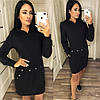 Платье-туника с капюшоном  Мод. 074