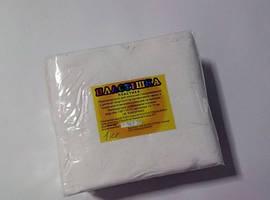Полимерная глина Пластишка (Bebik) – брусок 500г. цвет №1 (белый)
