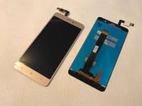 Дисплей Xiaomi Redmi Note 3 Pro SE с сенсорным стеклом, золотой