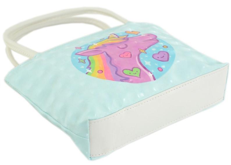 cecffbe0f000 Детская мини-сумочка Traum 7007-49, с рисунком единорога, голубого цвета,  цена 209 грн., купить в Киеве — Prom.ua (ID#883142194)