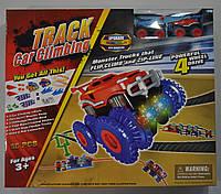 Набор Trix Trux Огромный 56 деталей 2 машинки монстр-траки и 2 комплекта препятствий, фото 1